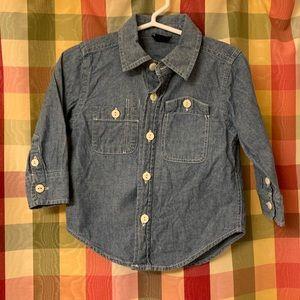 12-18 month GAP button down shirt